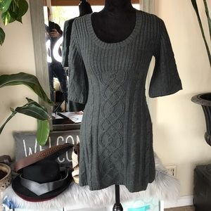 🍂5/$25🍂Cable knit Sweater Dress